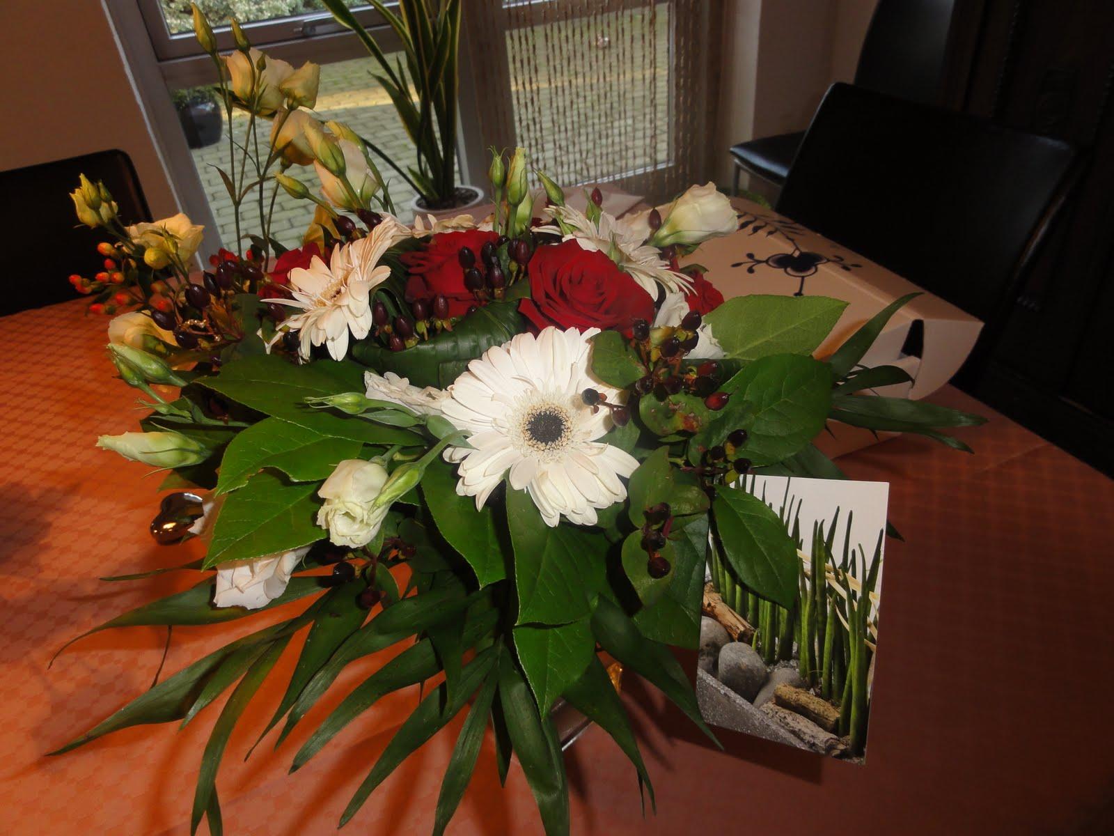 gaver og blomster