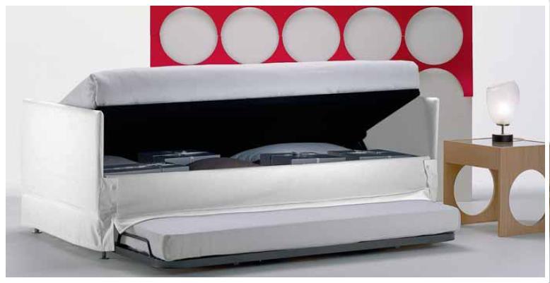 La casa rosso papavero un armadio sotto il letto - Tv a scomparsa sotto il letto ...