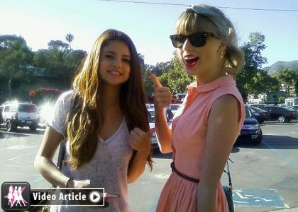 Selena Gomez & Taylor Swift: Paradise Cove Cuties » Gossip