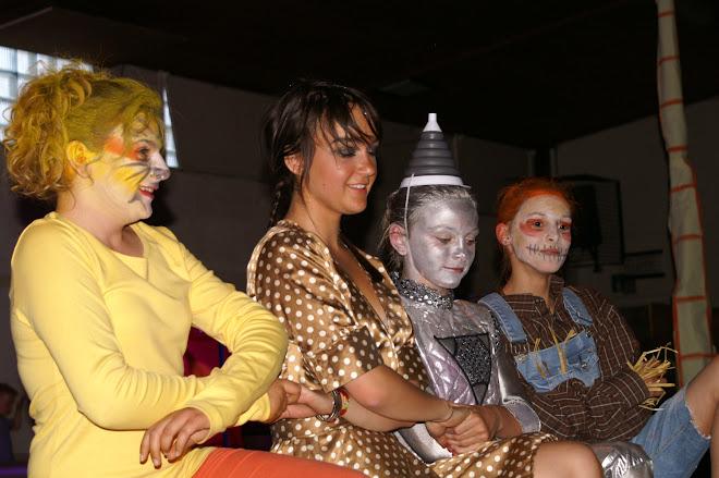 quatuor de choc! ( Justine, Tracy, Marie, Joséphine)