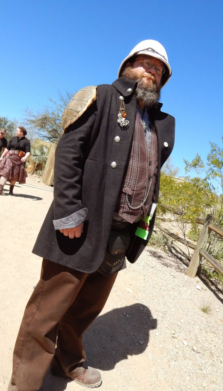 Wild Wild West Steampunk Con cosplay