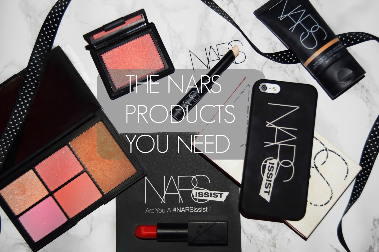 NARS COSMETICS TOP FIVE