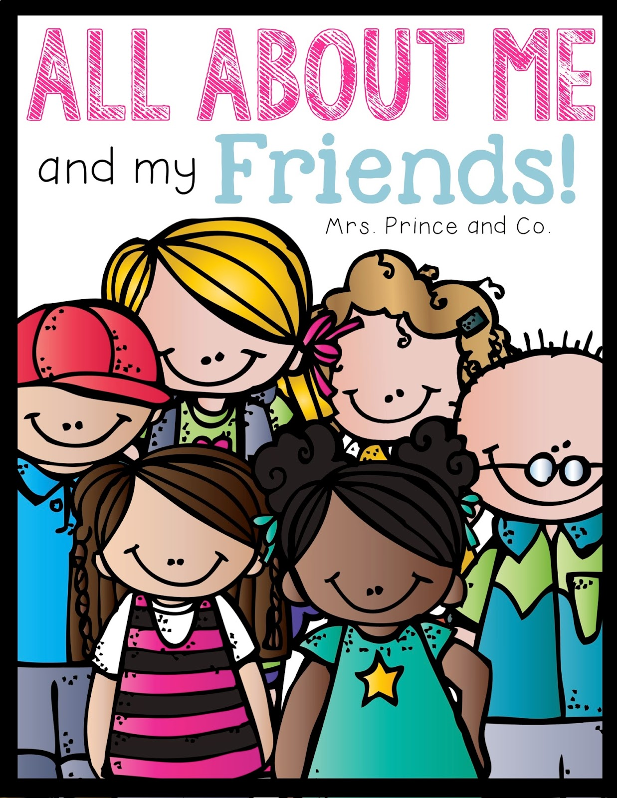 http://www.teacherspayteachers.com/Product/All-About-Me-and-My-Friends-1425360