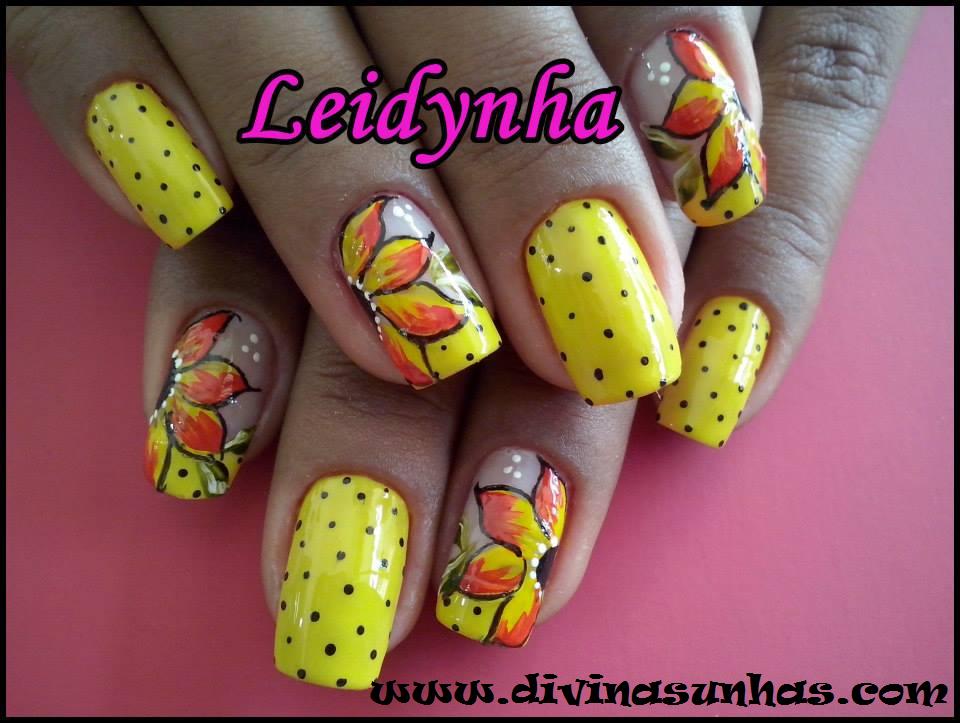 belas decorações de unhas com leidynha2