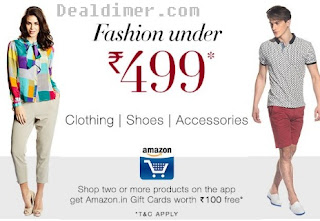 Amazon Fasion Sale under Rs. 499