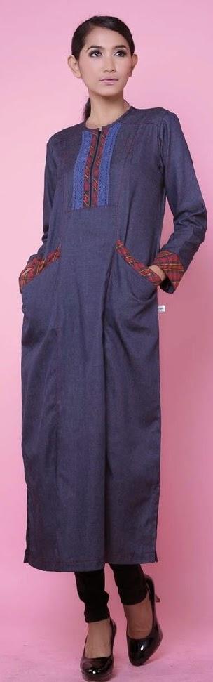 Busana Muslim Gamis Kaos