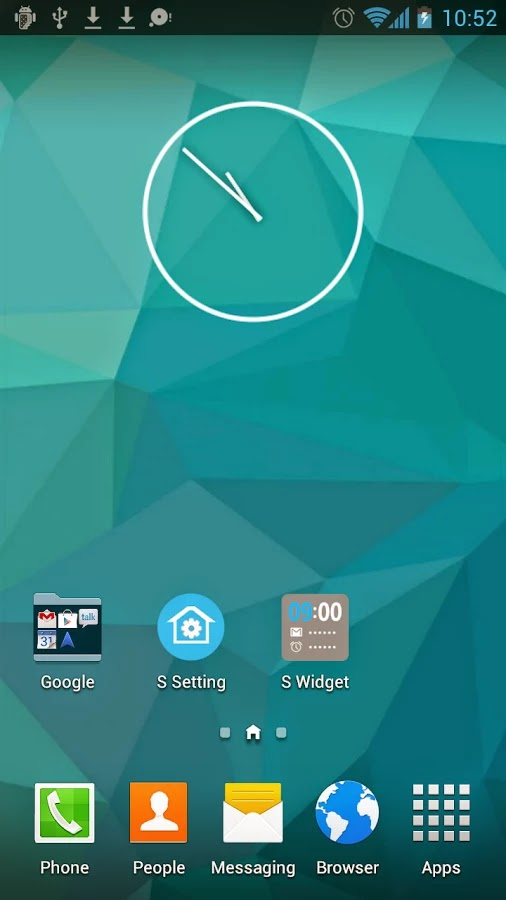 S Launcher (Galaxy S5 Launcher) Prime v2.8