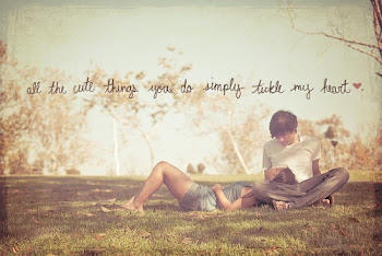 All the cute things you do simply tickle my heart.