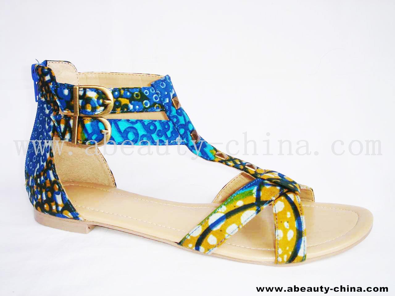 Peggyz Place: Ankara shoes
