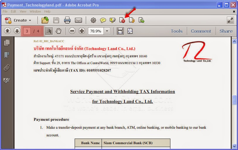 how to delete a particular page in pdf file