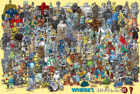 Donde está Wall·E?