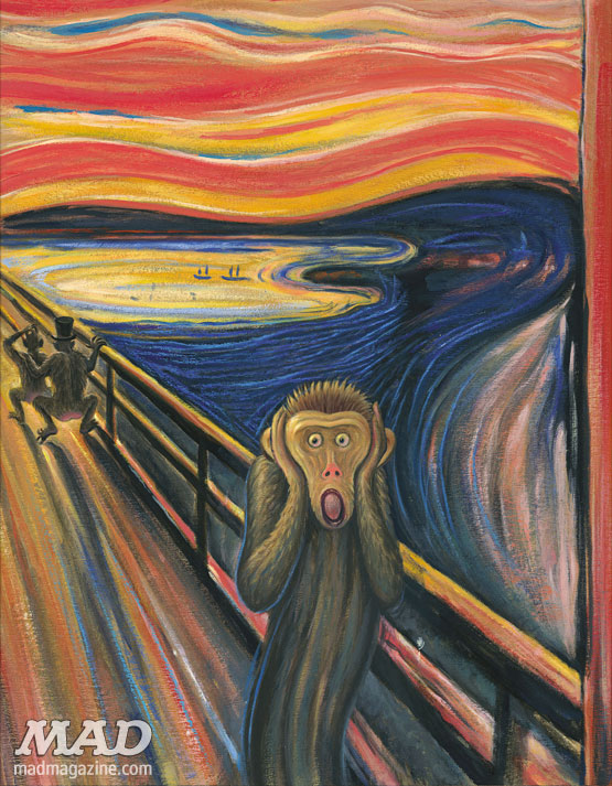 Van Gogh Scream Parody Munch s the scream  funThe Scream Edvard Munch Parody