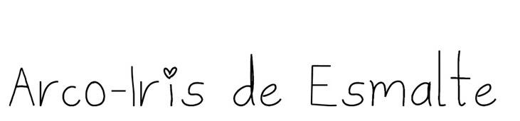 Arco-Íris de Esmalte
