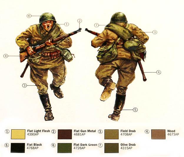 Posters Artwork Documents - Soviet Infantry