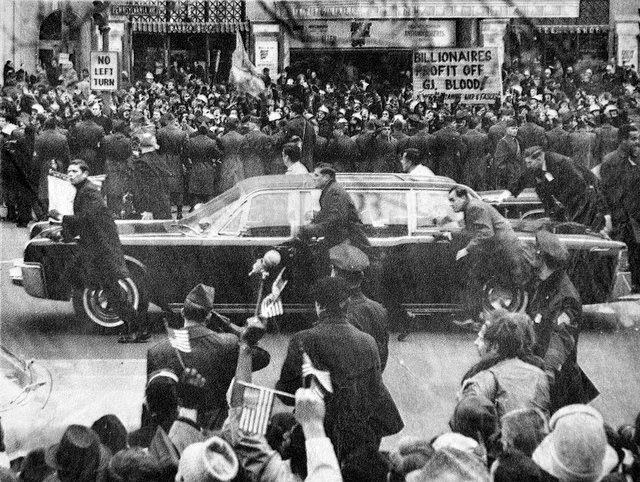 President Nixon Secret Service 1/20/73: second inaugural parade