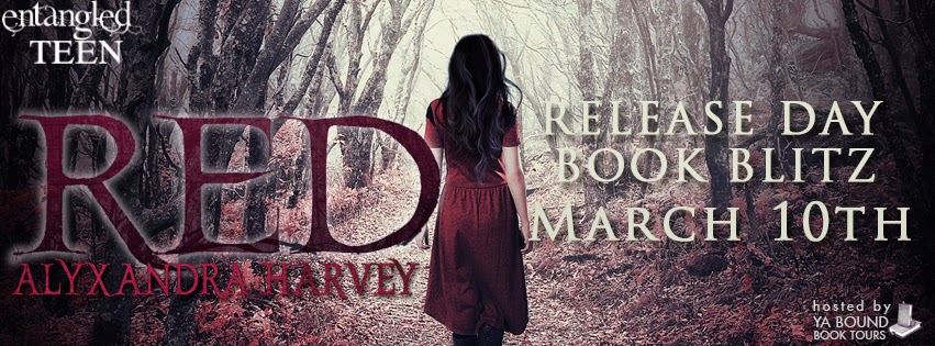 Release Day Book Blitz: Red by Alyxandra Harvey + Giveaway (INT)