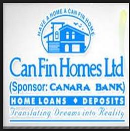 Can fin homes ltd recruitment 2013 details: