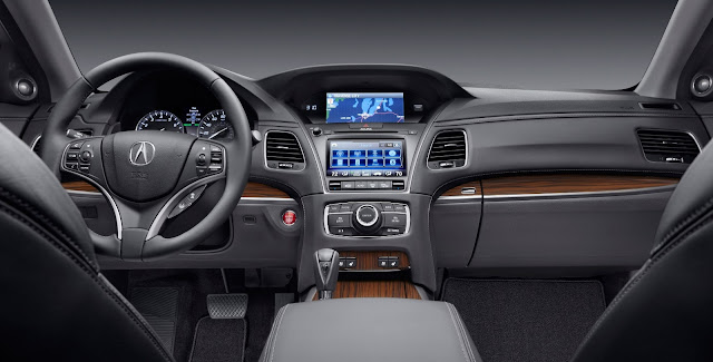 2014 Acura RLX Interior View
