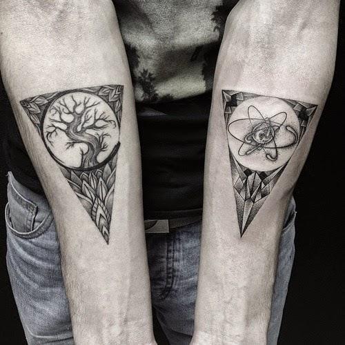 Tatuaje triangulo, http://distopiamod.blogspot.com