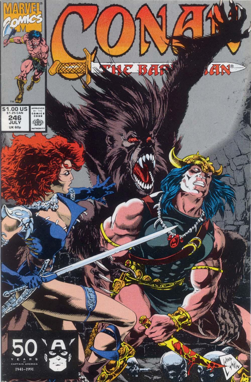 Conan the Barbarian (1970) Issue #246 #258 - English 1