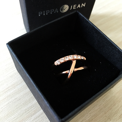 Pippa&Jean Rosegold ring