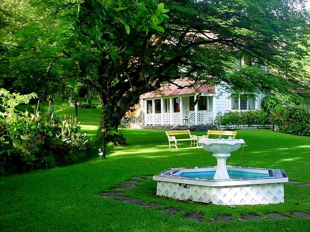 Arte y jardiner a la elecci n del estilo de un jard n - El jardin en casa ...