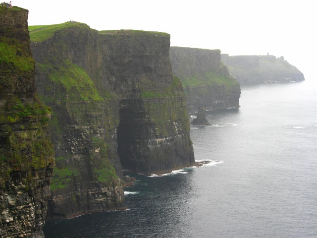 view of the CLIFFS OF MOHER © Annie Japaud Photography