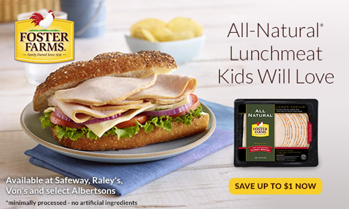 Foster Farms All-Natural Lunchmeat