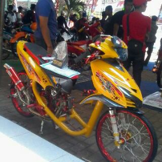 referensi modifikasi mio street racing