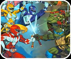 Liên minh ninja và siêu nhân, game hanh dong