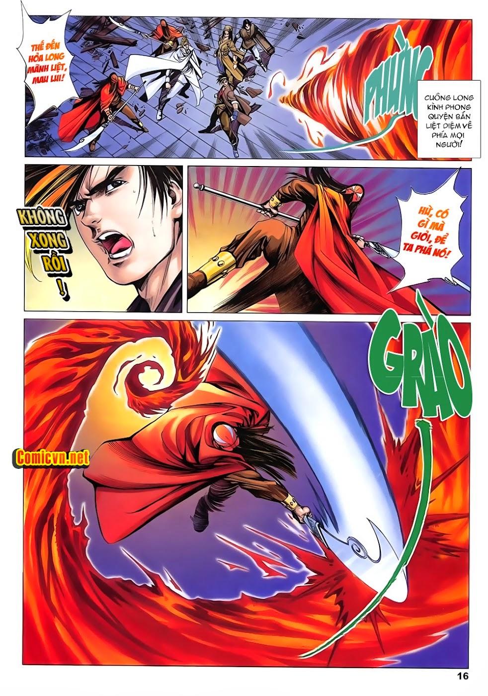 Lục Đạo Thiên Thư chap 15 - Trang 16