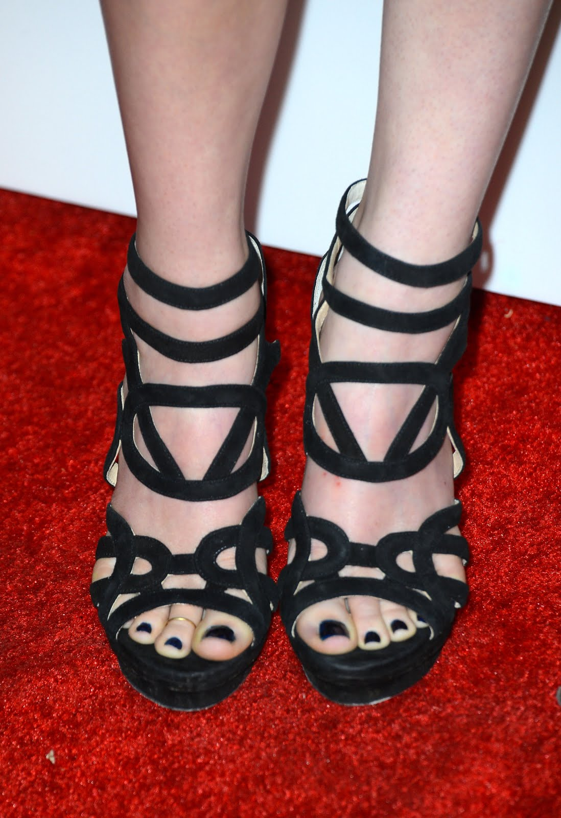 Rumer Willis Feet