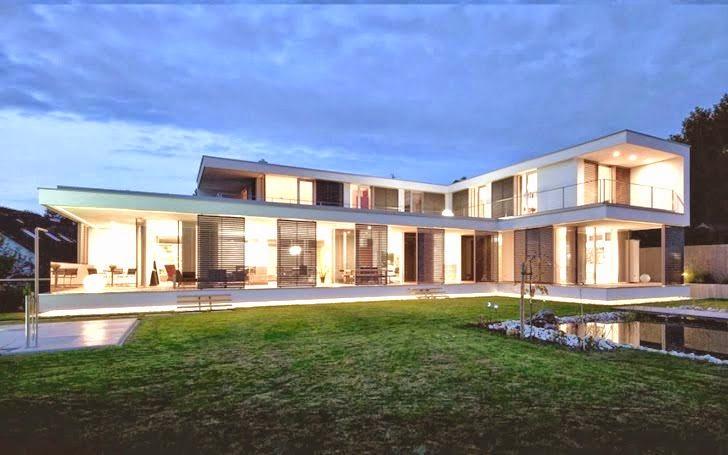 Casa sk reformada al estilo contempor neo austria - Estilo arquitectura contemporaneo ...