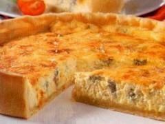 Receita de Torta aos 4 queijos