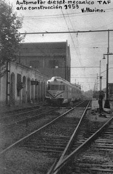 Tren TAF diesel  año de construcción 1953
