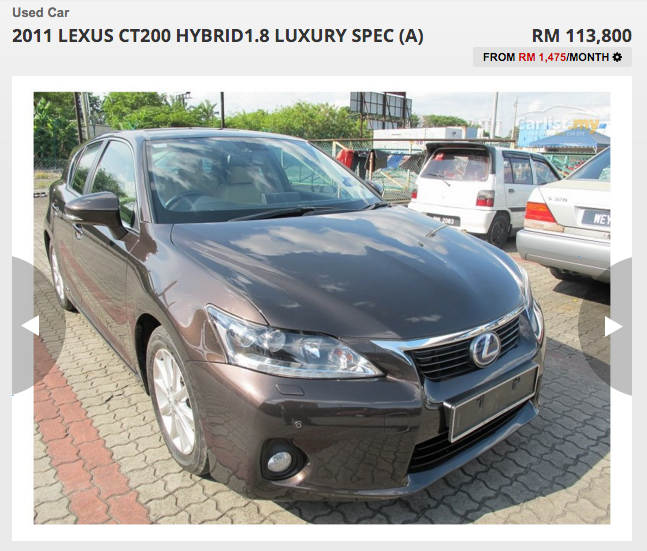 Lexus Dealerships In Ct: All Lexus: How About A Second-hand Lexus CT 200h At Just