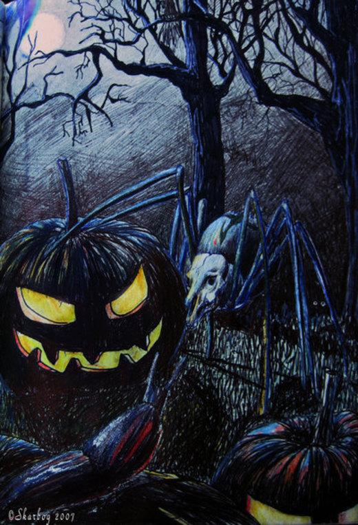 It's Halloween por Skarbog