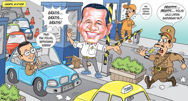 Karikatur Dahlan Iskan