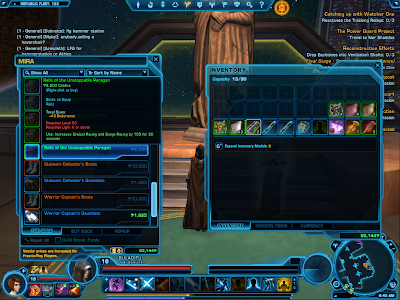 SWTOR - Light V Relic