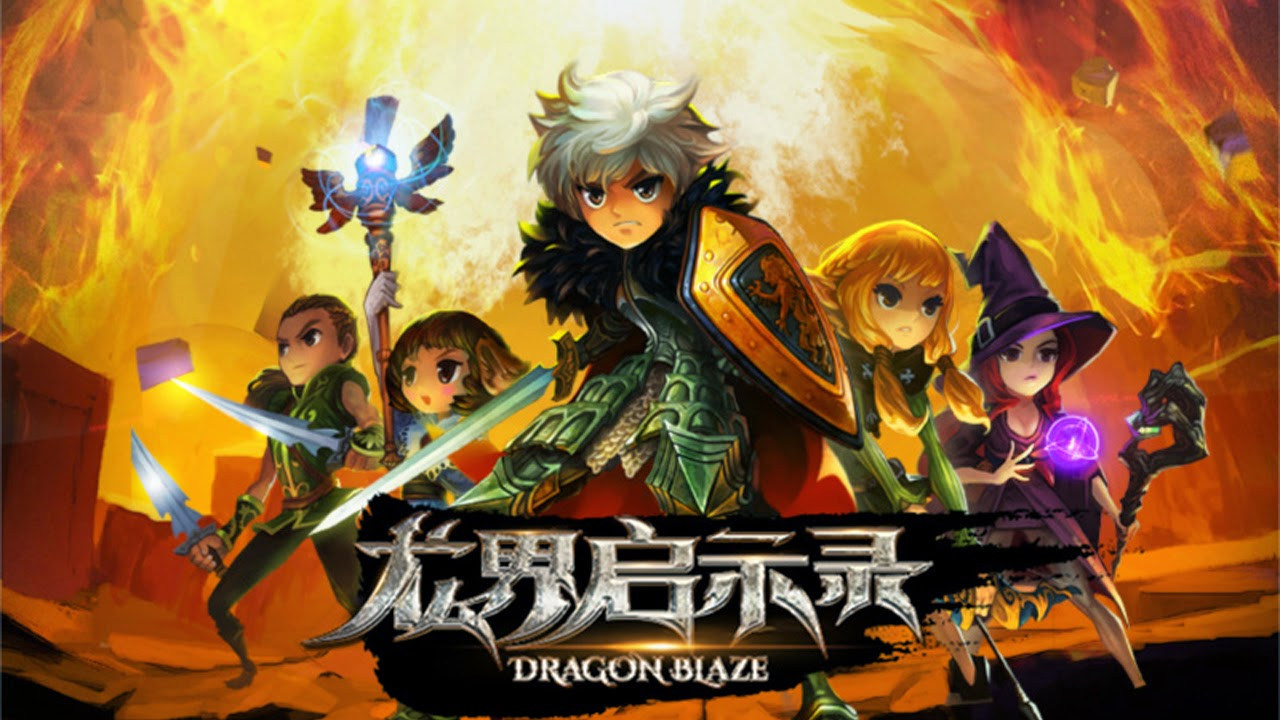 Dragon Blaze English Gameplay IOS / Android