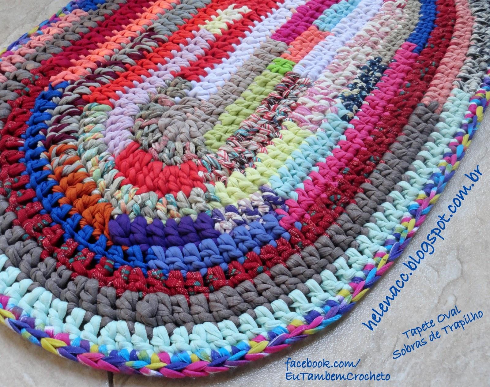 схема пушистых ковриков