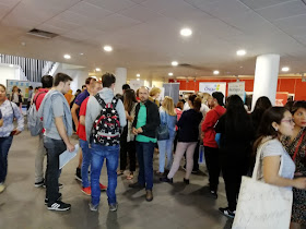 Colas en la Feria de Empleo de Tetuán