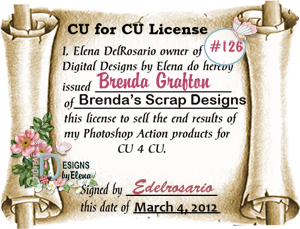 Digital Designs By Elena CU License