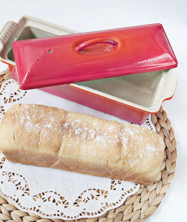 receta de pan d emolde fácil