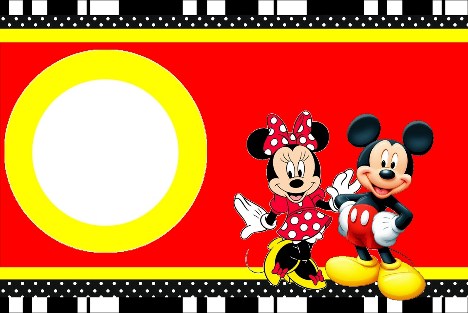 Mickey Mouse Clubhouse Invitation Template as good invitations design