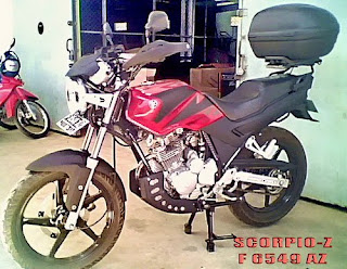 Extreme Modification Scorpio Motorcycle Pictures