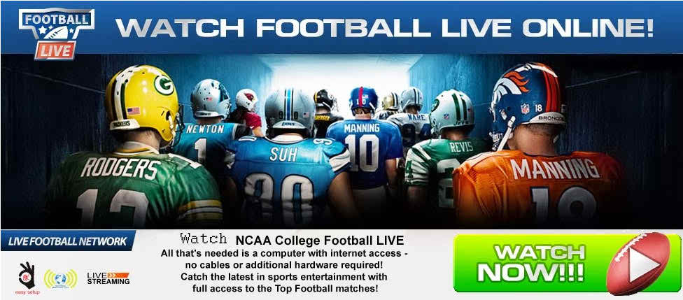 Watch NCAA College Football Live Streaming Here