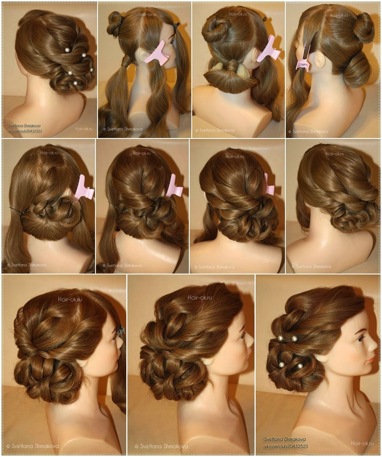 Hairstyles For Long Hair Videos Dailymotion : ... to master various hair styles hair stylists spend their whole lives to
