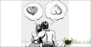 Perbedaan Cinta dan Nafsu