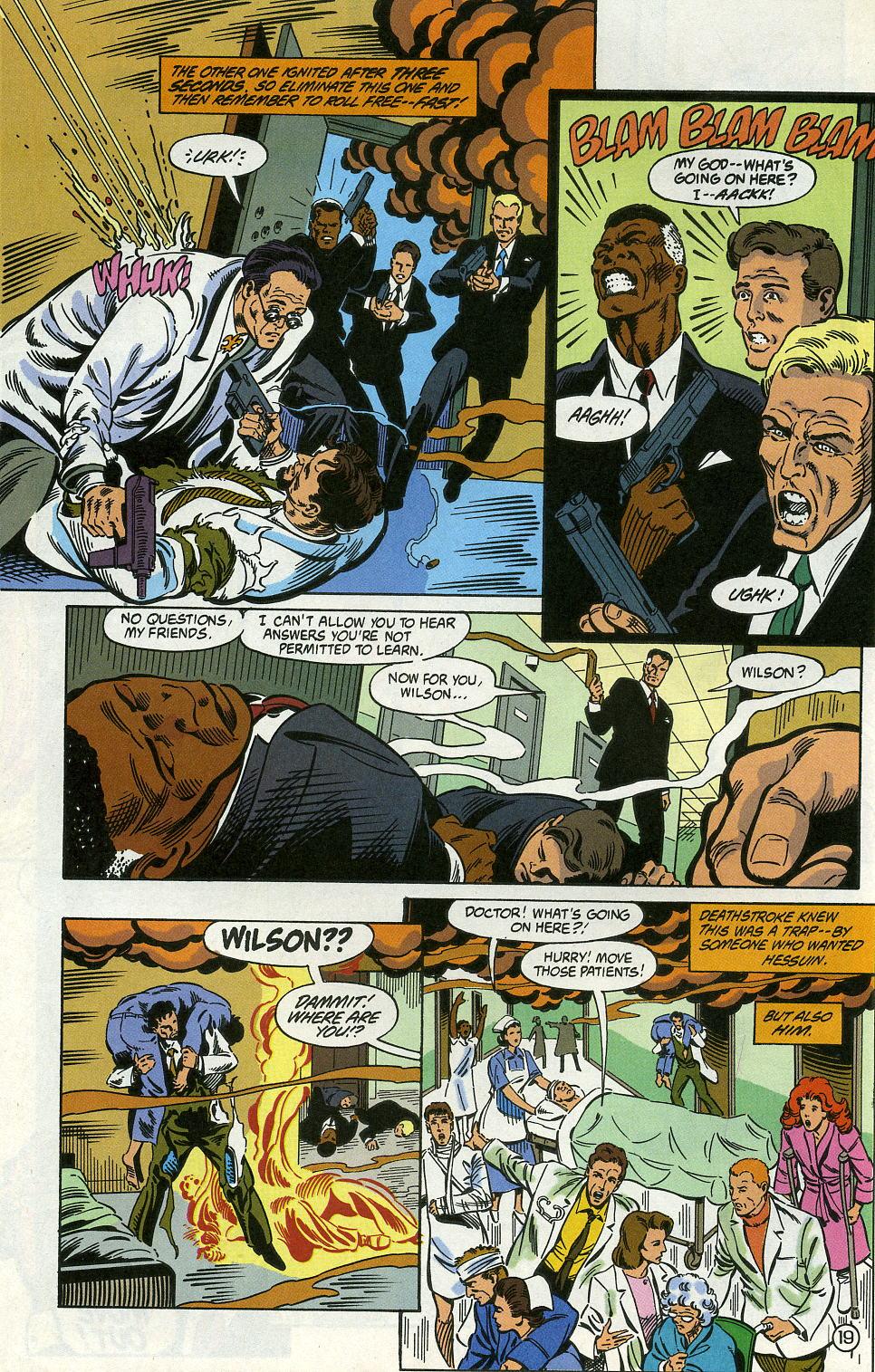 Deathstroke (1991) Issue #5 #10 - English 24